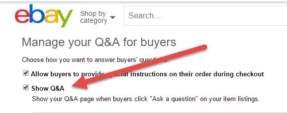 ebay tools QA